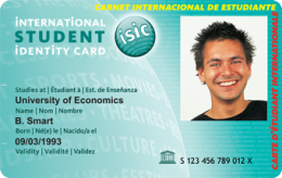 International Student Identity Card discounts card